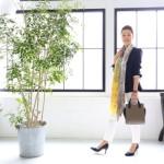 60代の女性のファッションコーディネート事例
