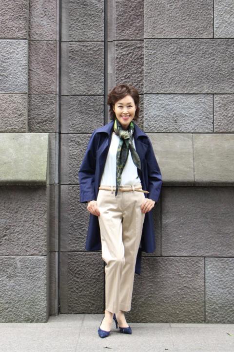 50代60代ファッション通販「jazz」の大山真沙子です。