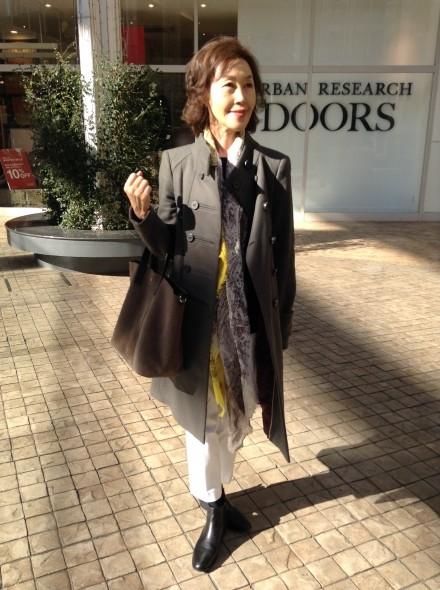 50代・60代の大人の女性のファッション通販「Jazz」の大山 真沙子です。