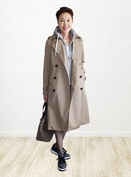 60代 女性 ファッション コーディネート